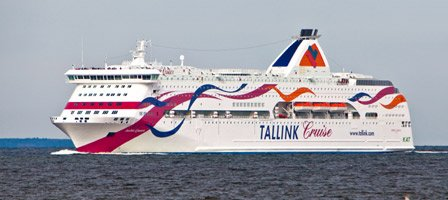 The Tallink ferry from Stockholm to Tallinn