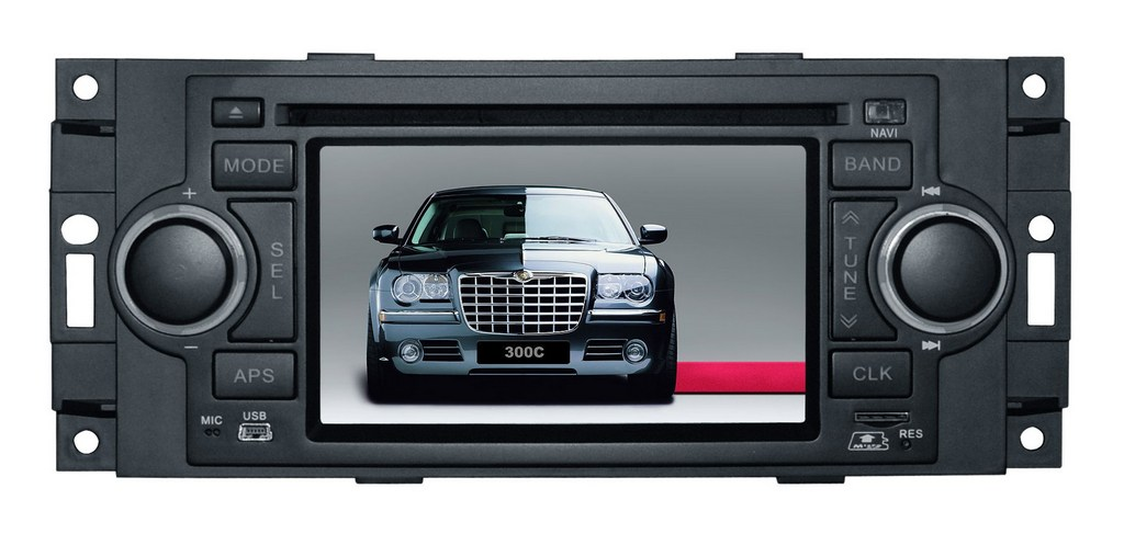 Штатное головное устройство Chrysler 300C / PT Cruiser / Dodge Ram / Jeep Grand Cherokee TID-6015