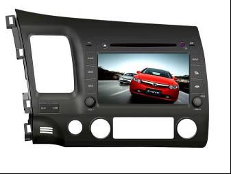 Штатное головное устройство Honda Civic TID-8944