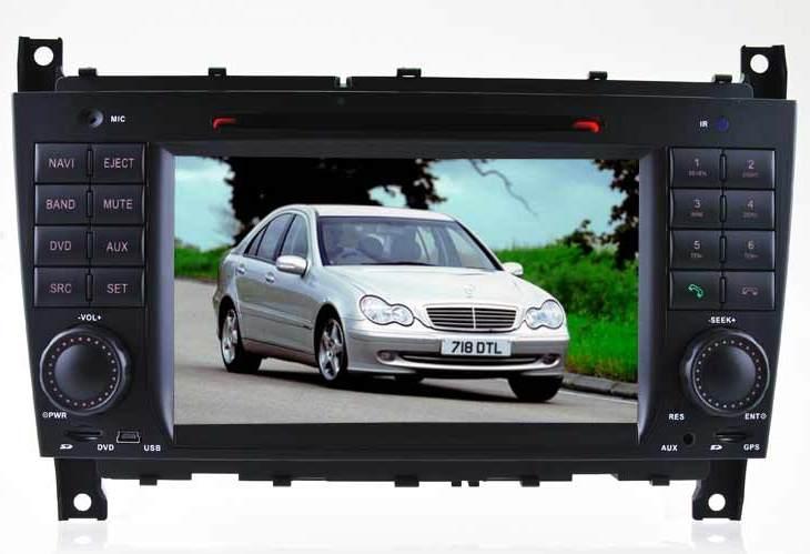 Штатное головное устройство Mercedes Benz C-Class / W203 (2004-2007) / CLK / W209 (2004-2005) X-Sound HL-8731GB