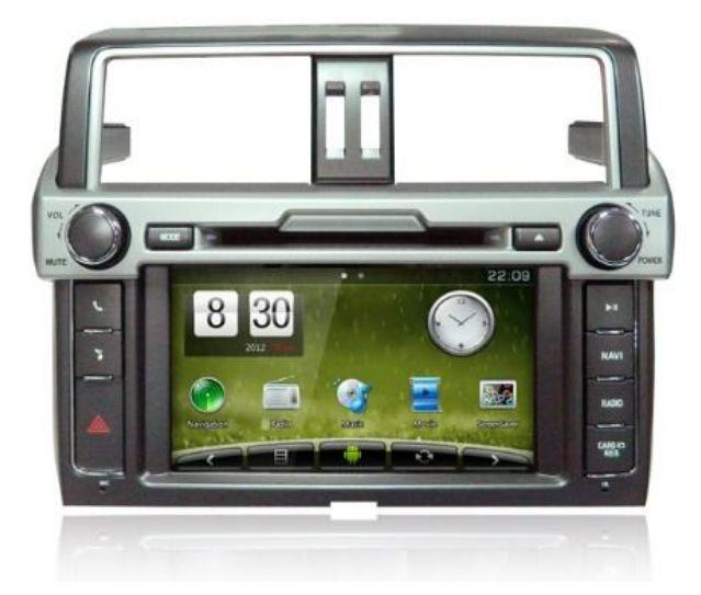 Штатное головное устройство ШГУ на Android 4 Toyota Prado 150 (2013+) X-Sound AS-15084HD