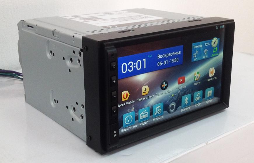 2-DIN Универсальная магнитола с GPS Flyaudio G6000F01