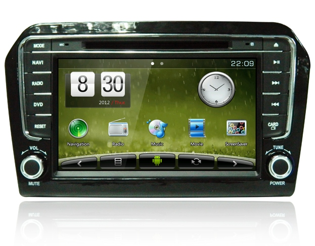 Штатное головное устройство ШГУ на Android 4 Volkswagen Jetta (2013+) X-Sound AS-7631HD