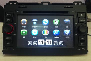 Штатное головное устройство Toyota Prado 120 X-Sound BS-7403