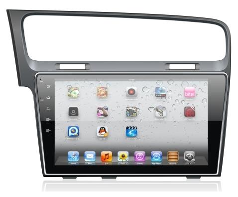 Штатное головное устройство ШГУ на Android 4 Volkswagen Golf 7 X-Sound AS-1029