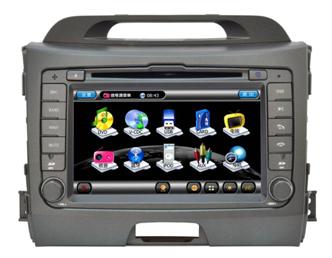 Штатное головное устройство KIA Sportage (новые модели 2011 г.в.) TID-8974-2