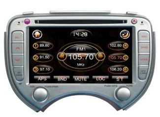 Штатное головное устройство NISSAN March TID-8068