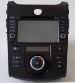 Штатное головное устройство KIA SHUMA / FORTE / CERATO (2008-2011) TID-7028-2