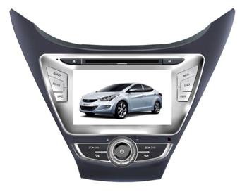 Штатное головное устройство Hyundai Elantra (2012) TID-8992