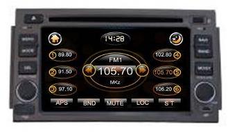 Штатное головное устройство Hyundai Azera TID-8007