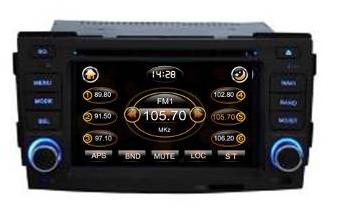 Штатное головное устройство Hyundai Sonata (2009 г.в.) TID-8017