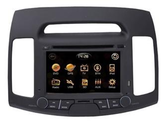Штатное головное устройство Hyundai Elantra (новые модели) TID-8022