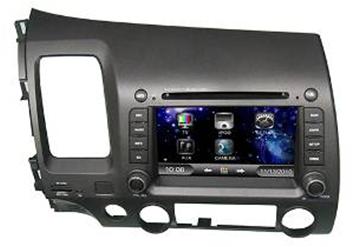 Штатное головное устройство Honda Civic TID-6510