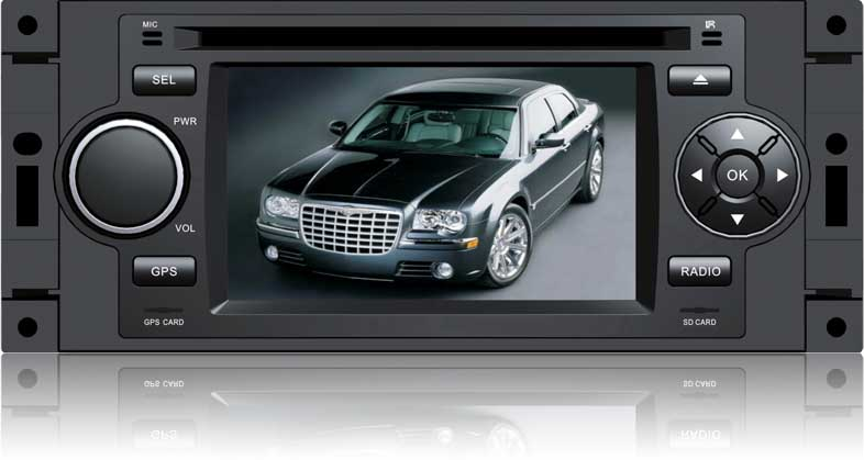Штатное головное устройство Chrysler 300C / PT Cruiser / Dodge Ram / Jeep Grand Cherokee HT-6012-SGE