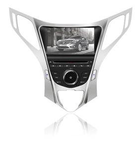 Штатное головное устройство Hyundai Azera (2012) TID-A104