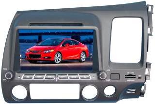 Штатное головное устройство Honda Civic (правый руль) TID-8059