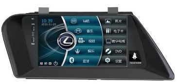 Штатное головное устройство LEXUS RX270 TID-9209