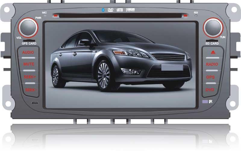 Штатное головное устройство ШГУ на Android 4 Ford Focus 3 (2008-2011) / Mondeo (2007-2011) / S-Max (2008-2011) HT-6013-A