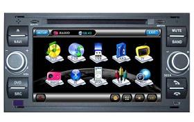 Штатное головное устройство Ford Focus 2 (1999-2006) / Kuga / Fusion / Fiesta (после 2005 г.в.) / C-Max / S-Max / Transit / Galaxy TID-A140