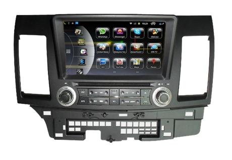 Штатное головное устройство ШГУ на Android 4 Mitsubishi Lancer 10 (2008+) HT-6031-A