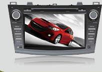 Штатное головное устройство ШГУ на Android 4 Mazda 3 2010-2011 HT-9806-A