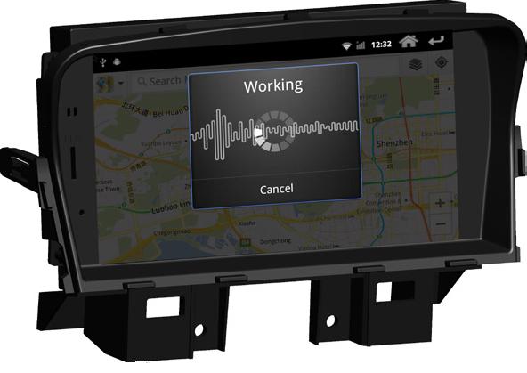 Штатное головное устройство ШГУ на Android 4 Chevrolet Cruze (2008-2012) HT-7023-A