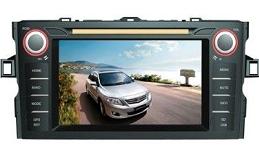Штатное головное устройство Toyota Corolla 2012 X-Sound XS-1001