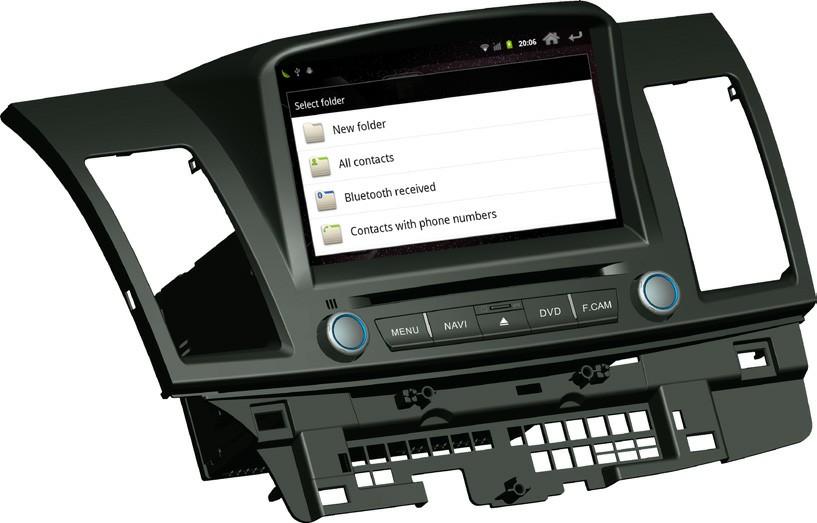 Штатное головное устройство ШГУ на Android 4 Mitsubishi Lancer 10 HT-6031-AS