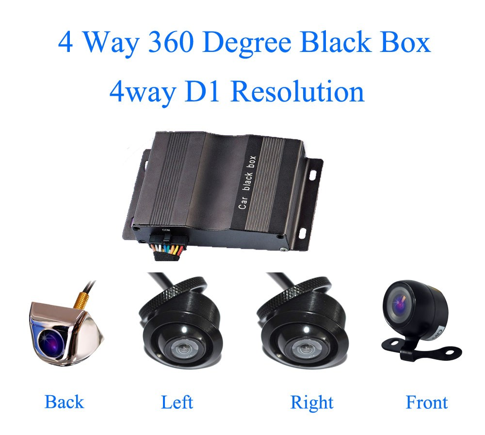 Универсальная камера заднего вида для автомобиля VD-360