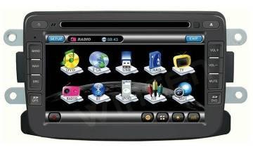 Штатное головное устройство Renault Duster / Logan / Sandero TID-A157