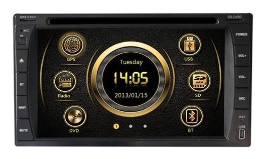 2-DIN Универсальная магнитола с GPS X-Sound XS-6204