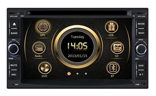 2-DIN Универсальная магнитола с GPS X-Sound XS-6213