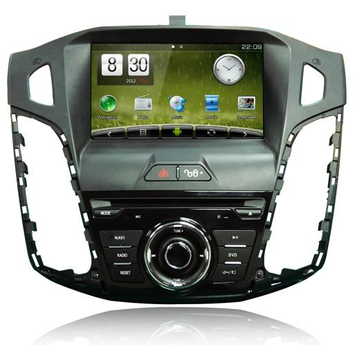 Штатное головное устройство ШГУ на Android 4 Ford Focus 2012 X-Sound AS-8533HD