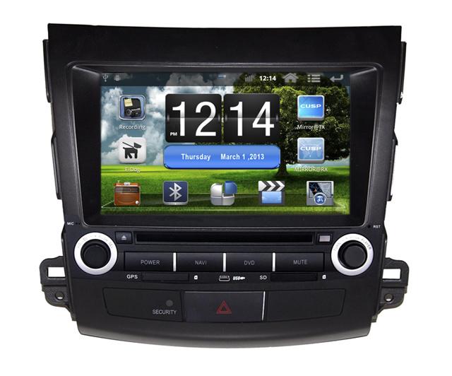 Штатное головное устройство ШГУ на Android Mitsubishi Outlander (2006-2011) / Peugeot 4007 (2007-2011) / Citroen C-Crosser X-Sound AS-8051
