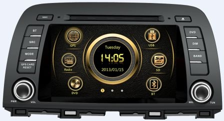 Штатное головное устройство Mazda CX-5 (2012+) X-Sound XS-7100