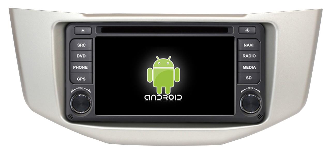 Штатное головное устройство ШГУ на Android 4 Lexus RX330 / RX350 X-Sound AS-15018