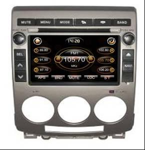 Штатное головное устройство Mazda 5 (2005-2010 г.в.) TID-8028