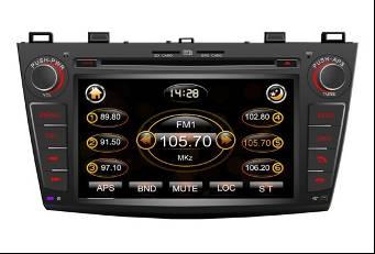 Штатное головное устройство Mazda 3 2010-2011 TID-8035