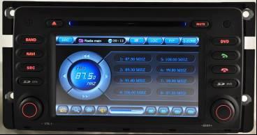 Штатное головное устройство Mercedes Smart TID-8987